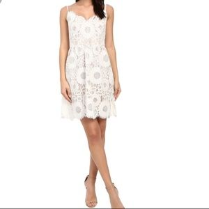 Trina Turk lace white dress